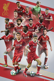 Liverpool - Players 17/18 Prints