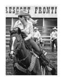 Barrel Racer Posters by Barry Hart