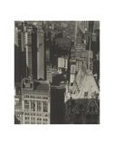 New York, Temple Court, distant view, Negative date: 1920 Arte por Charles Sheeler