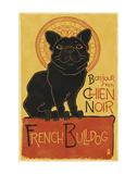 French Bulldog Lámina por  Lantern Press