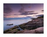 Dusk Along the Maine Coast Prints by Michael Hudson