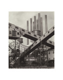 Criss-Crossed Conveyors - Ford Plant, 1927 Pôsters por Charles Sheeler