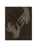 Georgia O'Keeffe: A Portrait (8), 1919 Kunstdruck von Alfred Stieglitz