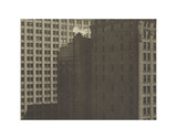 Manhatta - Skyscrapers in Shadows, Negative date: 1920 Poster par Charles Sheeler