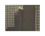 Manhatta - Skyscrapers in Shadows, Negative date: 1920 Pôsteres por Charles Sheeler