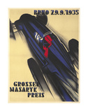 Race Car Poster par  Lantern Press
