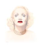 Marlene Dietrich Giclée-Druck von Gerard Kelly
