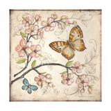 Le Jardin Butterfly II Art by Kate McRostie