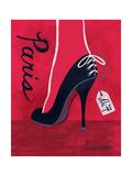 ハイヒール・パリ ポスター : ジェニファー・マルタ