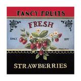 Frische Erdbeeren Kunstdrucke von Kimberly Poloson