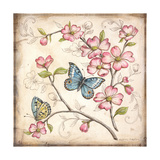 Le Jardin Butterfly I Posters by Kate McRostie