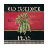 Old Fashioned Peas Kunstdrucke von Kimberly Poloson