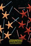 Starfish Wars (Satire, Star Wars) Kunstdrucke