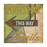 Hiking Trails Plakater af Debbie DeWitt