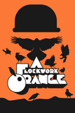 A Flockwork Orange (Woordspeling op A Clockwork Orange) Posters