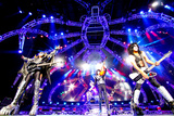 KISS - 40th Anniversary Tour Live - Simmons, Stanley, and Thayer キャンバスプリント