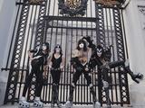 KISS - Buckingham Palace 1976 キャンバスプリント