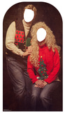 Ugly Christmas Sweater Portrait Stand-in Cardboard Cutouts