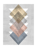 Diamond Allign I Poster af Jennifer Goldberger