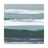 Teal Sea II Affiches par Rob Delamater