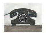 Phoning II Affiches par Samuel Dixon