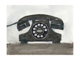 Phoning II Premium Giclee Print by Samuel Dixon