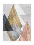 Peaks I Premium Giclee Print by Jennifer Goldberger