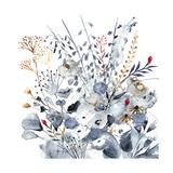 Indigo & Ochre I Premium Giclee Print by Victoria Borges
