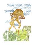 Undersea Creatures IV Art par Melissa Wang