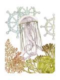 Undersea Creatures III Posters par Melissa Wang
