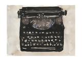 Typing I Premium Giclee Print by Samuel Dixon