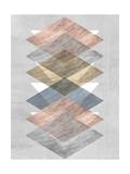 Diamond Allign II Posters af Jennifer Goldberger