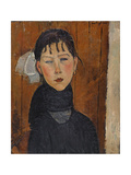 Marie (Marie, Daughter of the People), 1918 Reproduction procédé giclée par Amedeo Modigliani