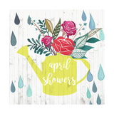 April Showers & May Flowers I Premium Giclee Print by  Studio W