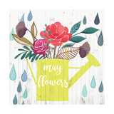 April Showers & May Flowers II Premium Giclee Print by  Studio W