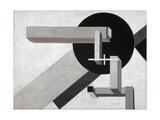 Proun 1 D, 1919 Giclee-trykk av Eliezer Markowich Lissitzky