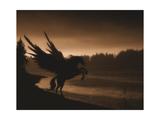 Pegasus Print by Julie Fain