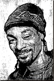 Snoop Stretched Canvas Print by Neil Shigley