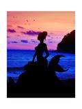 Mermaid Dreams Poster by Julie Fain