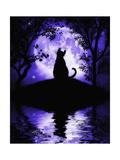 Rosalie's Moon Giclée-Premiumdruck von Julie Fain