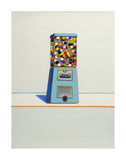 Blue Vendor, 1963 Poster af Wayne Thiebaud