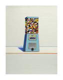 Blue Vendor, 1963 Kunstdruck von Wayne Thiebaud