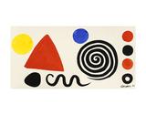 Abstraction, 1966 Kunstdruck von Alexander Calder