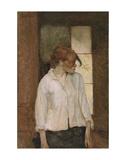 """""""A Montrouge"""" - Rosa la Rouge, 1886-1887 Posters tekijänä Henri de Toulouse-Lautrec"""