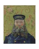 The Postman (Joseph-Etienne Roulin), 1889 Plakater af Vincent van Gogh