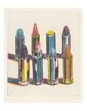 Eight Lipsticks, 1988 Pôsters por Wayne Thiebaud