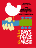 Woodstock - Festival Poster Poster von  Epic Rights