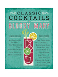 Classic Cocktail Bloody Mary 高画質プリント : マイケル・ミューラン