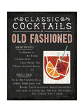 Classic Cocktail Old Fashioned 高品質プリント : マイケル・ミューラン