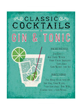 Classic Cocktail Gin and Tonic ポスター : マイケル・ミューラン
